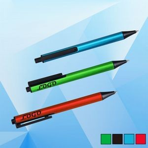 Plunge-action Rollerball Pen
